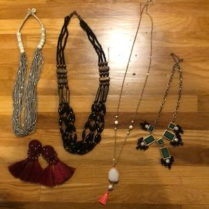 Assortment of jewlery, different brand and styles